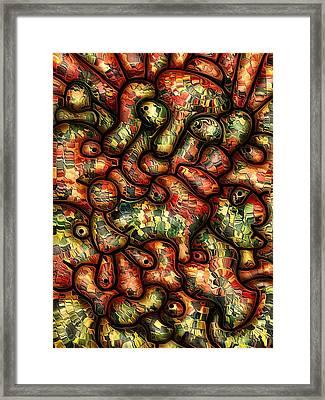 Mop By Rafi Talby Framed Print by Rafi Talby