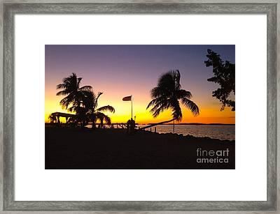 Morada Bay Framed Print by Carey Chen