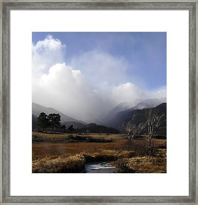 Moraine Park Rmnp Co Framed Print