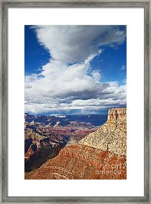 Moran Point One Fifteen Framed Print by Donald Sewell