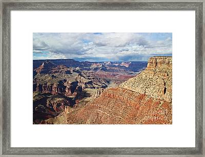 Moran Point One Zero Three Framed Print by Donald Sewell