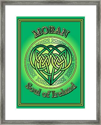 Moran Soul Of Ireland Framed Print by Ireland Calling