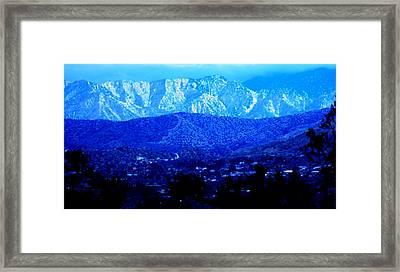 Morango Blues Framed Print