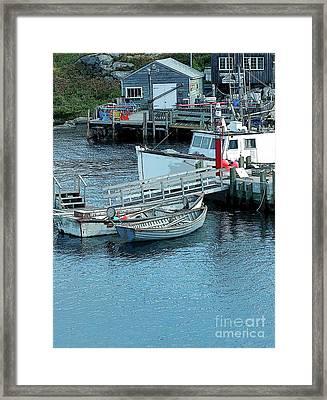 More Boats Framed Print by Kathleen Struckle