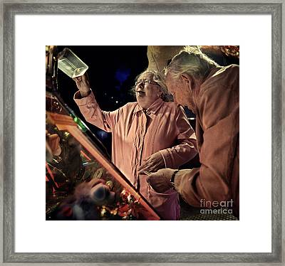More Coins Please Framed Print by Michel Verhoef