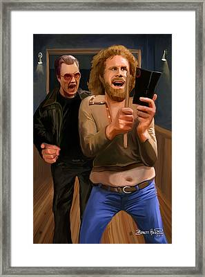 More Cowbell Framed Print by Brett Hardin