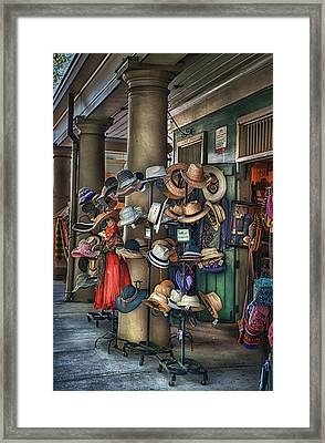 More Hats Inside Framed Print by Brenda Bryant