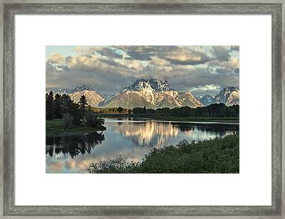 More On The Mountain Framed Print