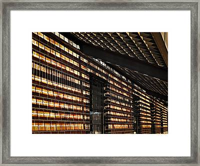 Framed Print featuring the photograph More Shadows by Judy  Johnson