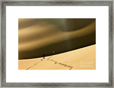 More Stars Than Sand Framed Print by Michael Cinnamond