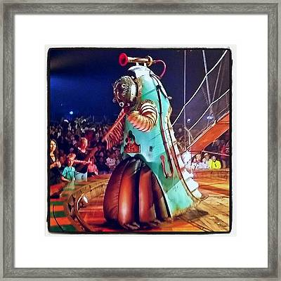More #steampunk #robot Goodness At Framed Print