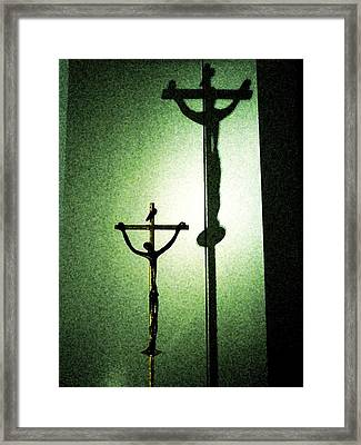 Framed Print featuring the photograph More Than A Shadow by Zinvolle Art