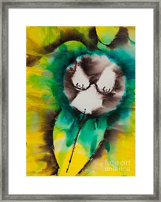 More Than Series No. 1421 Framed Print by Ilisa Millermoon