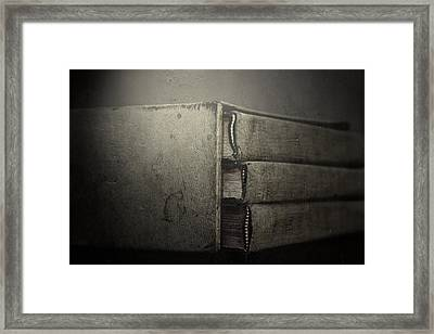 More Than Words Framed Print by Mark  Ross