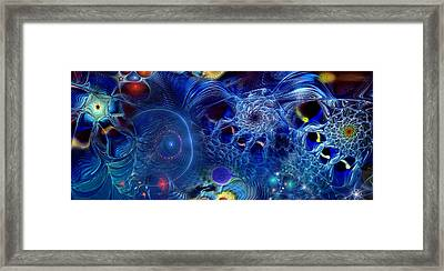 Framed Print featuring the digital art More Things In Heaven And Earth by Casey Kotas
