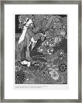 Morella Framed Print by British Library