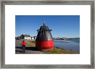 Moresby Memorial Bouy , County Framed Print by Panoramic Images