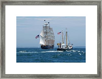 Morgan And Roann Framed Print
