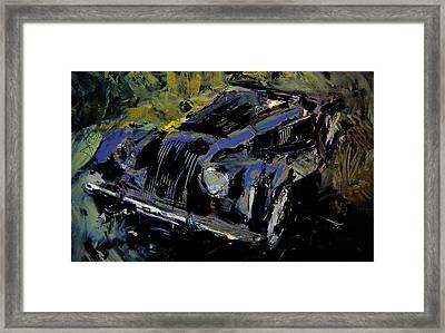 Framed Print featuring the digital art Morgan by Jim Vance