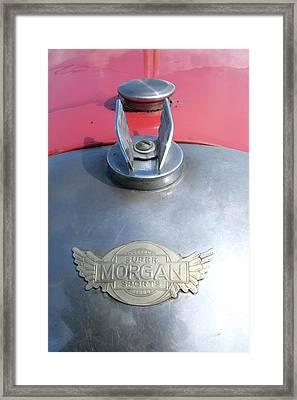 Morgan Super Sport Badge Framed Print