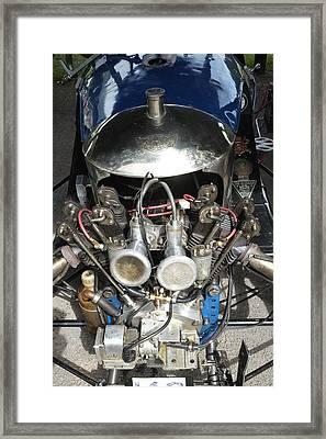 Morgan V Twin Engine Detail Framed Print