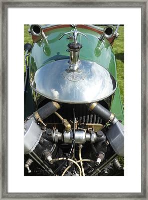 Morgan Vintage V Twin 3 Wheel Car   Framed Print