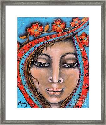Morganna Framed Print