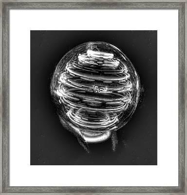 Morgan's Spiral Toy Framed Print