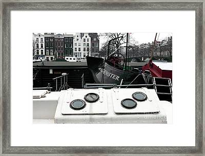 Morgenster Framed Print