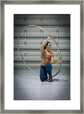 Moriah Framed Print