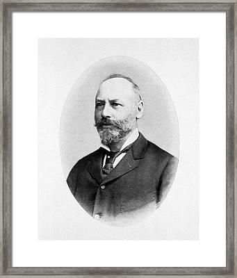 Moritz Kaposi Framed Print