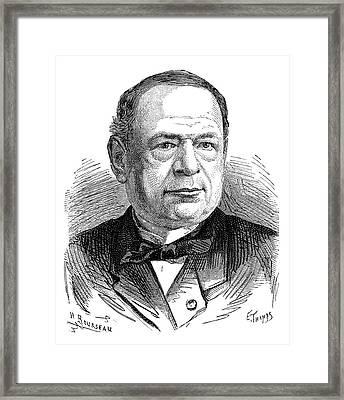 Moritz Von Jacobi Framed Print