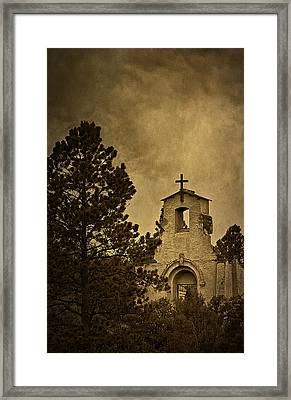 Morley Church Framed Print by Priscilla Burgers