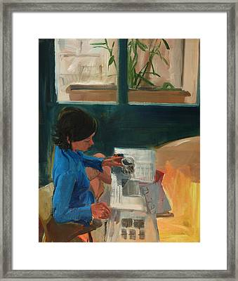 Morning Framed Print by Daniel Clarke