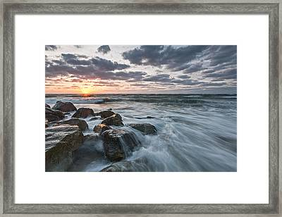 Morning All The Time Framed Print