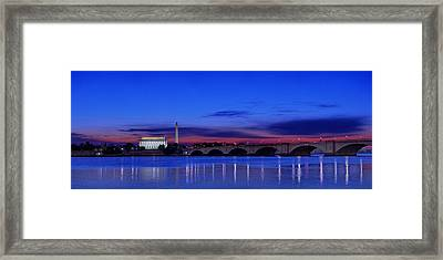 Morning Along The Potomac Framed Print by Metro DC Photography