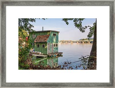 Morning At Latsch Island Framed Print