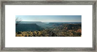 Morning At Palo Duro Framed Print