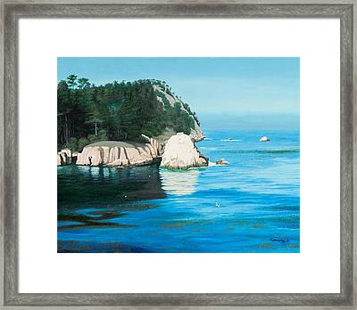 Morning At Point Lobos #2 Framed Print