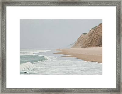 Morning At Pomponio 2 Framed Print
