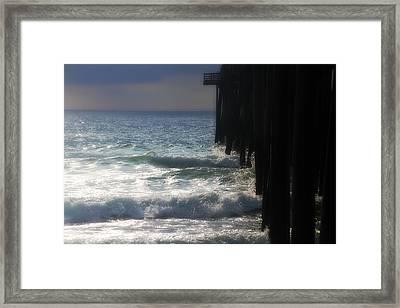 Under Rodanthe Pier 3 Framed Print