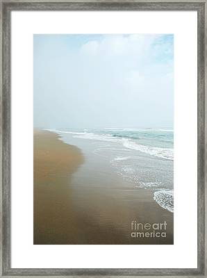 Morning At Sea Framed Print by Sharon Coty