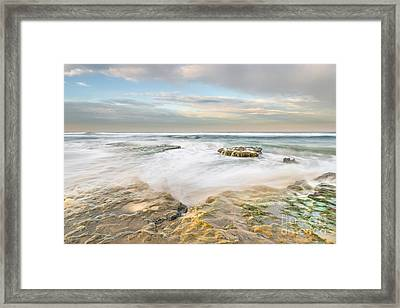 Morning At Tabletop Reef Framed Print