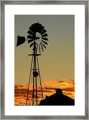 Morning At The Farm Framed Print