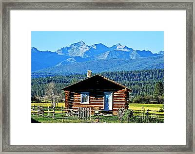 Framed Print featuring the photograph Morning At The Getaway by Joseph J Stevens