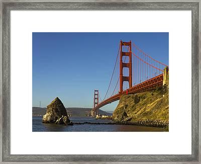 Morning At The Golden Gate Framed Print