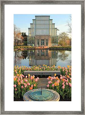 Morning At The Jewel Box Framed Print