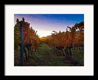 Solano County Framed Prints