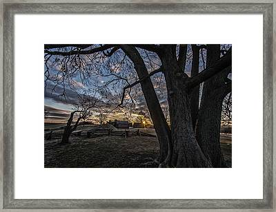 Morning At Valley Forge Framed Print by Jeff Oates Photography