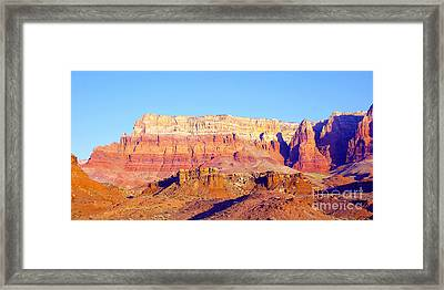 Morning At Vermillion Cliffs And Cathedral Canyon Framed Print by Douglas Taylor
